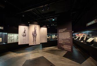 Ausstellungsraum in der Bibliotheca Albertina