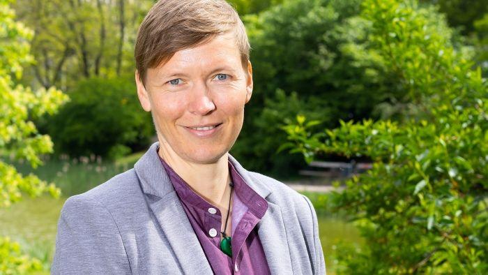 Die neue Personaldezernentin unserer Universität: Christina Ada Anders. Foto: Swen Reichhold