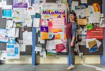 """Lehrprojekt """"MiLaMed"""": Lernen, wo andere Urlaub machen."""