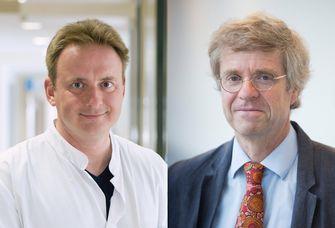 Diabetes-Patienten und ihre Erkrankungen dürfen trotz Corona nicht vernachlässigt werden, fordern Prof. Matthias Blüher (li.) und Prof. Wieland Kiess (re.) als UKL-Experten für Stoffwechselerkrankungen bei Erwachsenen und Kindern anlässlich des Welt-Diabetes-Tages am 14. November.