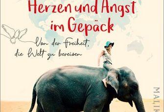 Buchcover Gabriele Finck, Mit Mut im Herzen und Angst im Gepäck