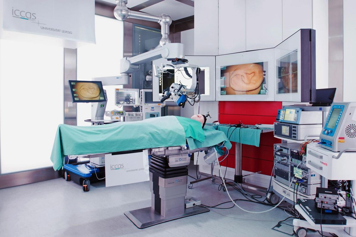Intelligent Operating Room at ICAAS.
