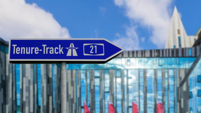 Autobahn Tenure Track - der schnellste Weg zu einer Professur
