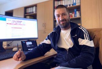 Alexander Lachky unterstützte die Lehrenden bei ihren digitalen Angeboten. Foto: Universität Leipzig