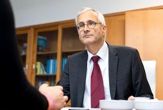 Prof. Dr. Michael Stumvoll, Dekan der Medizinischen Fakultät