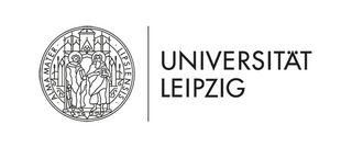 Leipzig University's figurative and word mark consists of an updated version of the historical seal as well as the German name of the University in italics..