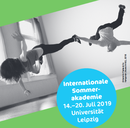 Coverbild des Flyers der internationalen Sommerakademie